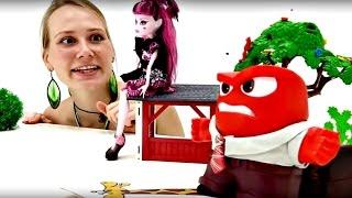 Кукла Монстр Хай Дракулаура и Маша. Видео с игрушками