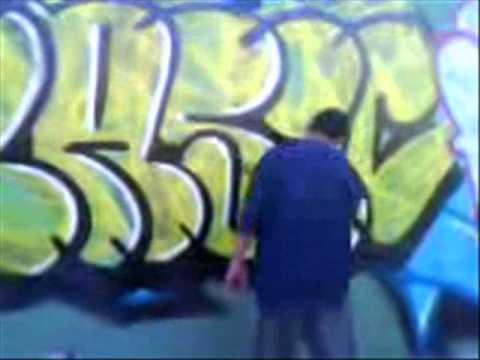 neza graffiti basik 2011