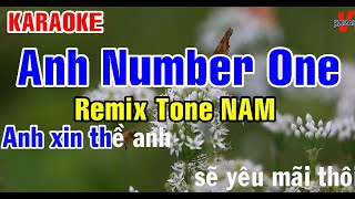 Download KARAOKE ANH NUMBER ONE Remix Tone NAM
