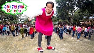 BÉ TẬP MÚA HÁT SÂN TRƯỜNG CHO HỌC SINH   Young school dance school students ♥ Giai tri cho Be yeu