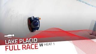 Lake Placid | BMW IBSF World Cup 2018/2019 - Women's Skeleton Heat 1 | IBSF Official