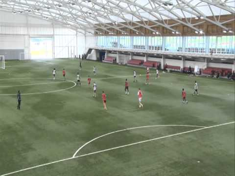 UEFA A Licence - Coach a team to defend against vertically split strikers (Coach Rehan Mirza)
