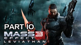 Mass Effect 3 Walkthrough - Leviathan DLC Part 10 Let's Play XBOX PS3 PC