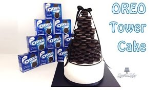 How To Make An Oreo Cookie Cake Tower From Creative Cakes By Sharon