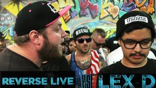 BOTZ2 - Rap Battle - Reverse Live vs Lex D