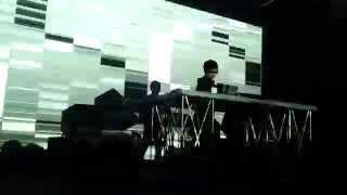 Ryoji Ikeda - supercodex [live] - Warehouse Roma 20.03.2015
