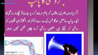 optical fibers matric matric in urdu