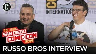 Russo Brothers Comic-Con Panel with Questions from Avengers: Endgame Cast Members