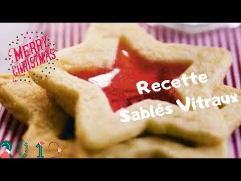 {-recettes-de-noËl-}-sablés-vitraux