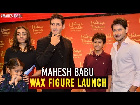 Mahesh Babu Wax Figure Launch Event | Madame Tussauds | AMB Cinemas