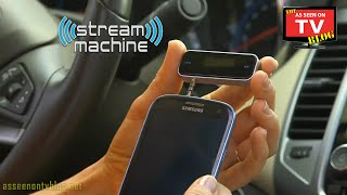 Stream Machine Commercial As Seen On TV Buy Stream Machine As Seen On TV Wireless FM Transmitter