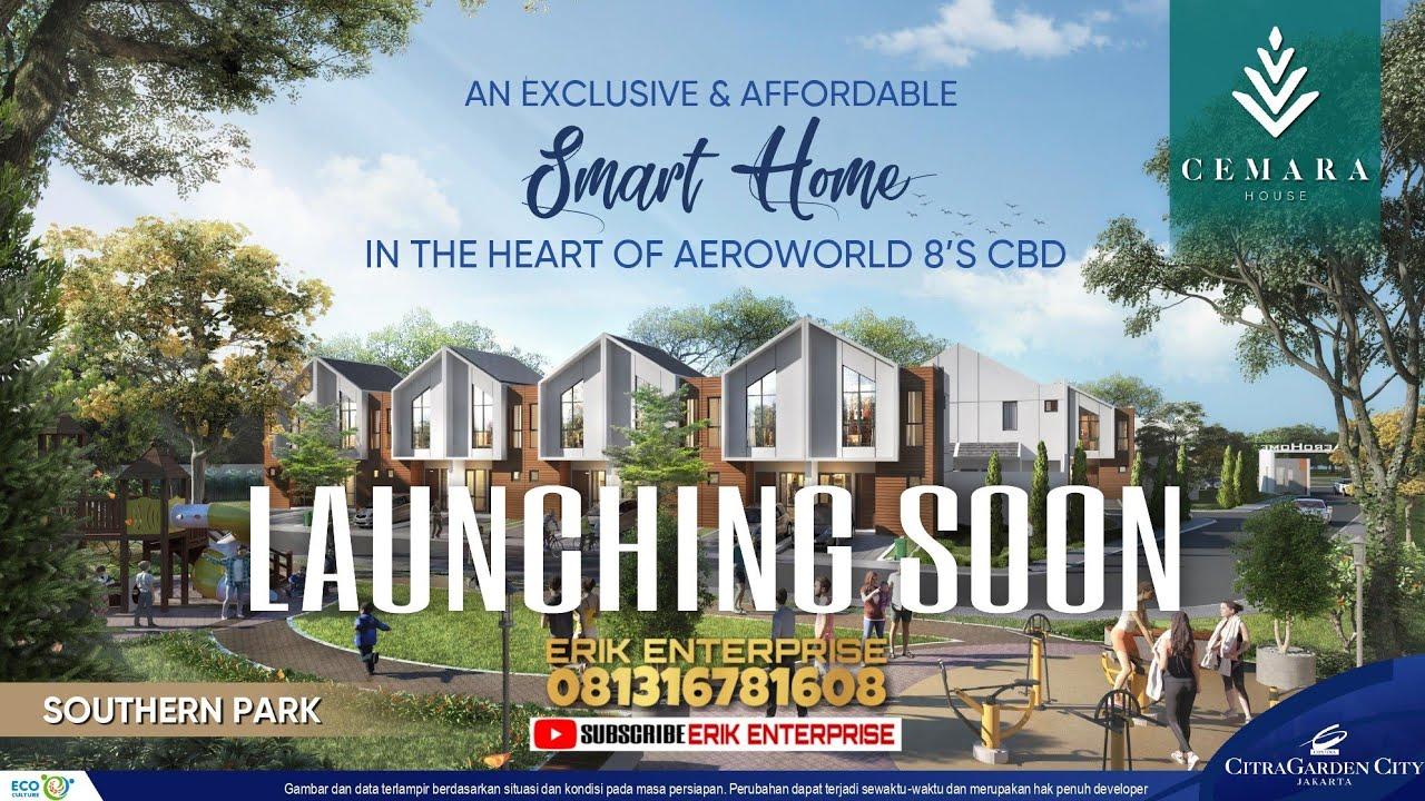 Aeroworld 8 Cemara House Aero Home Citra Garden City Jakarta Barat Launching Soon Youtube