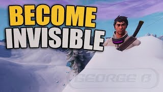 *NEW* Become FULLY Invisible In Fortnite Using This Glitch | Season 7 God Mode Glitch PS4/XBOX