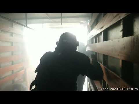 Fiscalizadores de la Municipalidad de Surco fueron atacados con bombas molotov