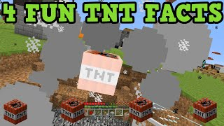 Minecraft - 4 Things You Didnt know About TNT