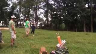 Skeet shooting w/ THE WOBBLER!