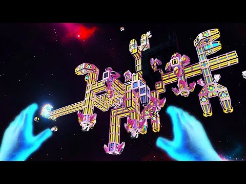 I BUILT a MASSIVE SPACE STATION AND IT ONLY KINDA BLEW UP in ViSP - Virtual Space Port VR! |