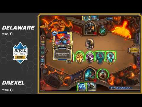 University of Delaware vs Drexel University: Hearthstone EGF College Rival Series 2016