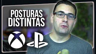 Posturas Distintas de PlayStation e Xbox na NOVA GERAÇÃO? | PS5 e Series X