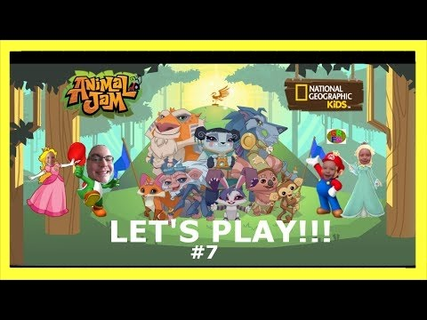 Let's Play Animal Jam: #7 New Cloths and Fun Games