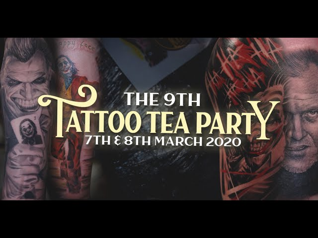 Tattoo Tea Party 2020 | Manchester Tattoo Convention | Killer Ink Tattoo