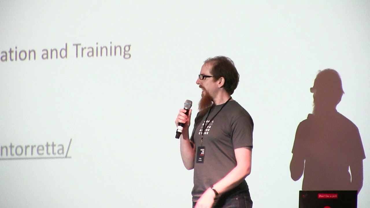 Image from Lightning Talk: To succeed as an internal writer... - Colin Torretta