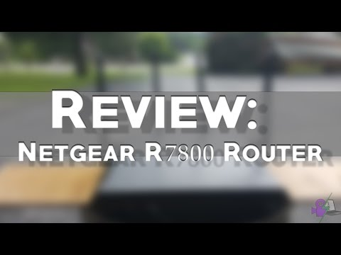 REVIEW: Netgear Nighthawk R7800 Router - YouTube