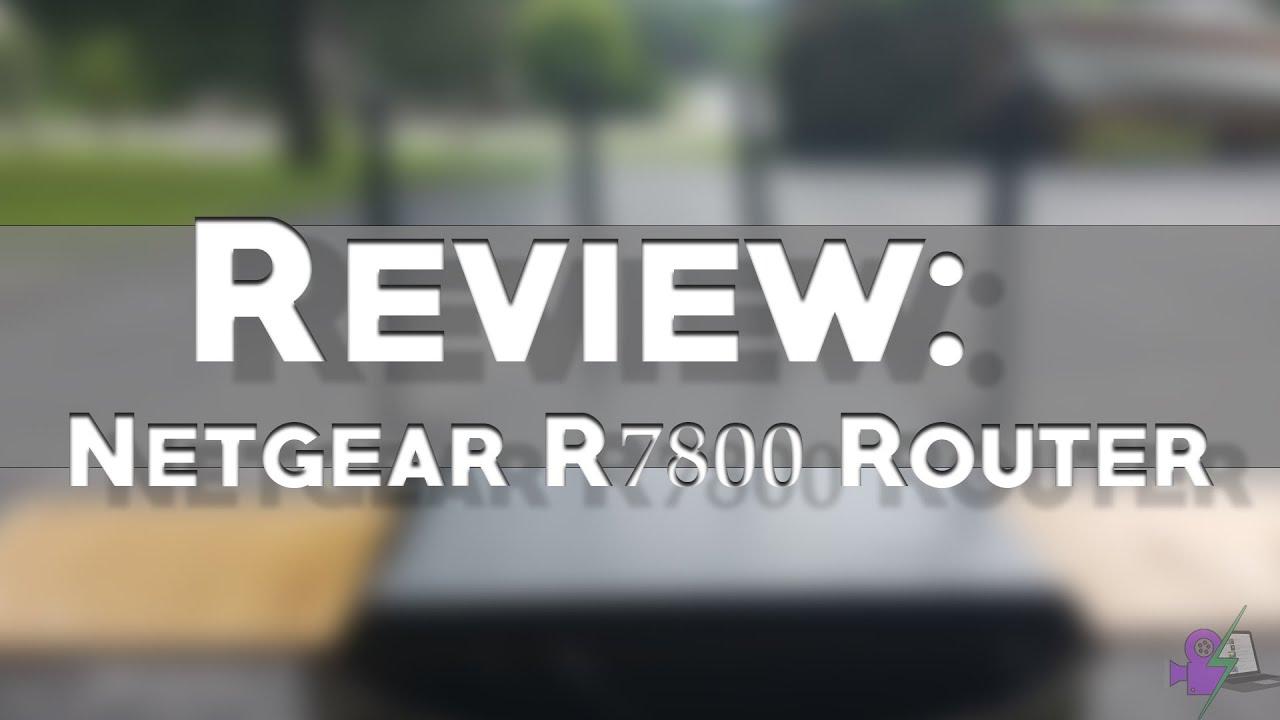 REVIEW: Netgear Nighthawk R7800 Router