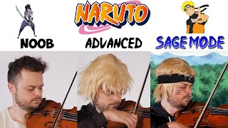 5 Levels of Naruto Music: Noob to Sage Mode