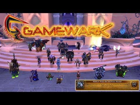WoW - GameWark / NH Hoja de hechizo Aluriel MM - Warrior Fury PoV
