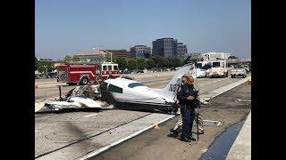 I-405 Plane Crash Response - Caltrans News Flash #140