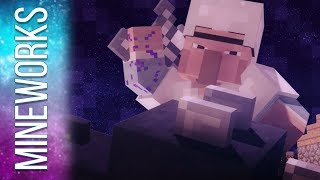 "♫ ""Dragons"" - A Minecraft Parody song of ""Radioactive"" By Imagine Dragons (Music Video) Animation"