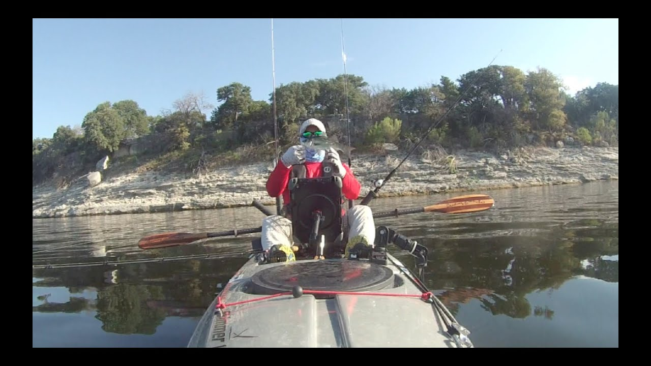 Catch me if you paddle season 1 ep 7 kayak fishing lake for Lake belton fishing report
