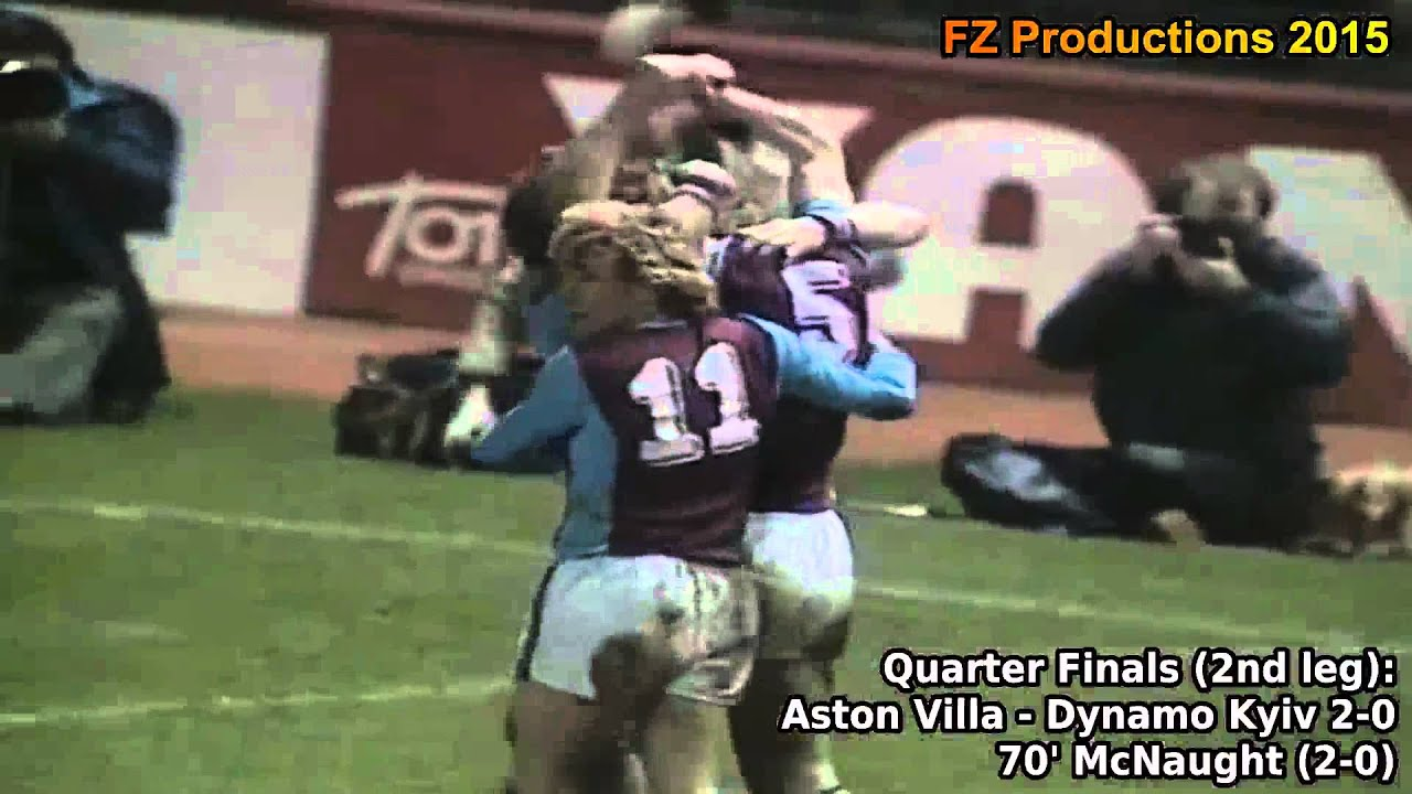 1981-1982 European Cup: Aston Villa FC All Goals (Road to Victory) - YouTube