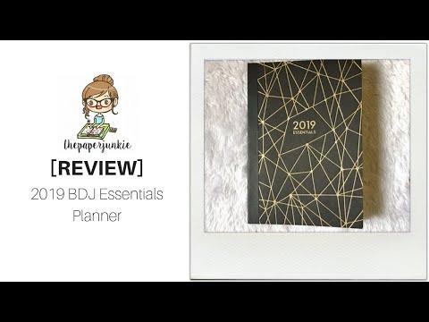 [REVIEW] 2019 BDJ Essentials Planner ❣ ThePaperJunkie Mp3