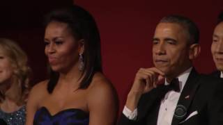 Aretha Franklin's awesome tribute to Carole King: Kennedy Center Honors 2015