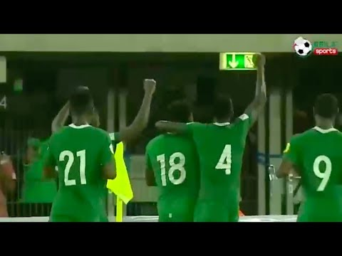 Nigeria vs Zambia Highlights and Celebration