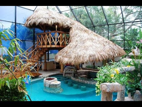 50 Amazing Tropical Pools Design Ideas