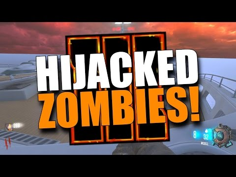 BO3 Custom Zombies: Hijacked Remastered! AMAZING MAP! (Black Ops 3 Mods)