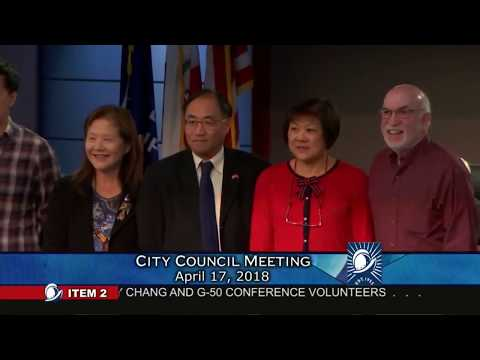 Cupertino City Council Meeting - April 17, 2018