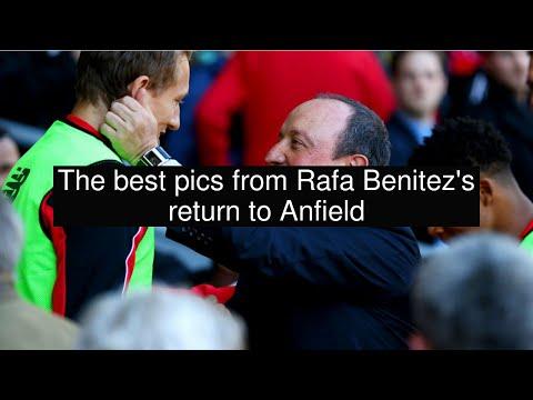 The best pics from Rafa Benitez's return to Anfield