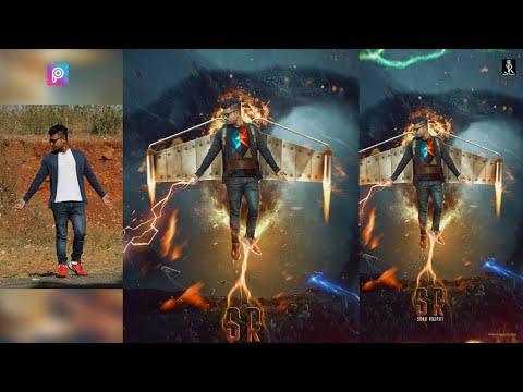 Sonu Rajput New Photo Editing tutorial in picsart || movie poster photo editing thumbnail
