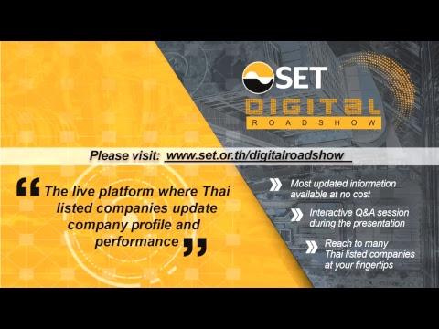 SET Digital Roadshow Gunkul Engineering Public Company Limited