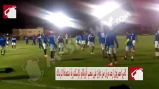 بالفيديو.. روح المرح تسود مران صن داونز قبل مواجهة الزمالك