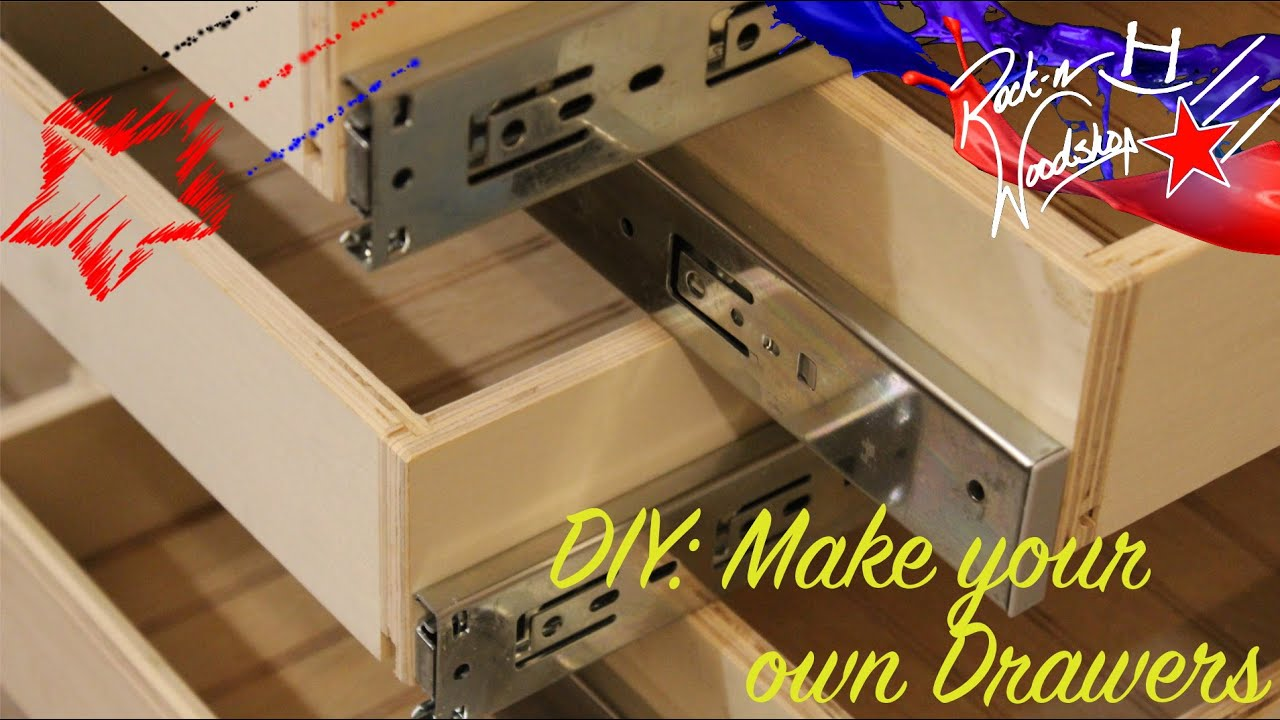 Diy Make Your Own Drawers Youtube