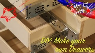 Diy Make Your Own Drawers