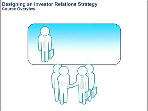 Designing an Investor Relations Strategy