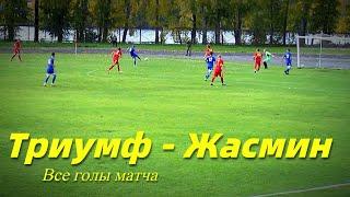 Триумф(Алапаевск)  - Жасмин(Михайловск). Самые яркие моменты матча.