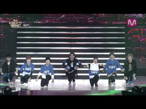 GOT 7_ Intro + Girls Girls Girls ( Intro + Girls Girls Girls by GOT 7 of M COUNTDOWN 2014.04.03)