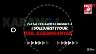 #SolidarityTour JAWA TENGAH - Karanganyar